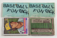 1976 West Corp Vendors Box of (20) Baseball Fun Packs (See Description) at PristineAuction.com