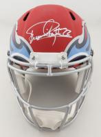 Derrick Henry Signed Titans Full-Size AMP Alternate Speed Helmet (JSA Hologram) at PristineAuction.com