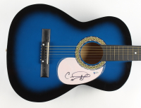 """Carrie Underwood Signed 38"""" Acoustic Guitar (Beckett COA) (See Description) at PristineAuction.com"""