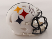 Minkah Fitzpatrick Signed Steelers AMP Alternate Speed Mini Helmet (PSA COA) at PristineAuction.com