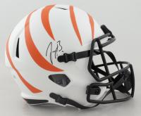 Joe Burrow Signed Bengals Full-Size Lunar Eclipse Alternate Speed Helmet (Fanatics Hologram) at PristineAuction.com