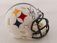 Minkah Fitzpatrick Signed Steelers AMP Alternate Speed Mini Helmet (PSA COA) (See Description) at PristineAuction.com