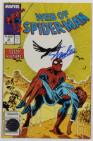 "Stan Lee Signed 1988 ""Web of Spider-Man"" #45 Marvel Comic Book (Lee COA) (See Description) at PristineAuction.com"