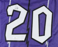 "Damon Stoudamire Signed Jersey Inscribed ""ROY 95"" (JSA COA) at PristineAuction.com"