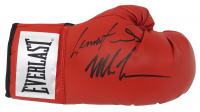 Mike Tyson & Lennox Lewis Signed Everlast Boxing Glove (Schwartz COA) at PristineAuction.com