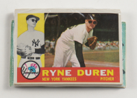 1960 Topps Baseball Card Fun Pack with (10) Cards (See Description) at PristineAuction.com