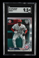 Juan Soto 2019 Topps Bowman Holiday #THJSO (SGC 9.5) at PristineAuction.com