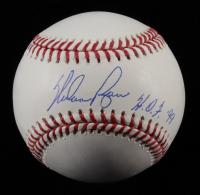 "Nolan Ryan Signed OML Baseball Inscribed ""HOF 99"" (Ryan Hologram & AIV COA) at PristineAuction.com"