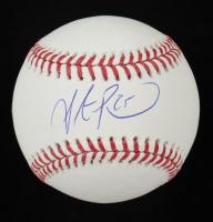 Steve Pearce Signed OML Baseball (MLB Hologram & Fanatics Hologram) at PristineAuction.com