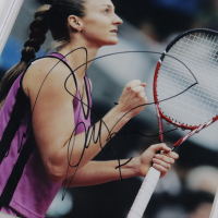 Mary Pierce Signed 8x10 Photo (BGS Encapsulated) at PristineAuction.com