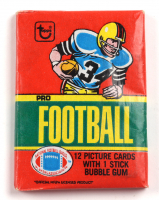 1980 Topps Pro Football Card Pack at PristineAuction.com