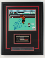 """Mike Tyson Signed """"Punch-Out!!"""" 15x19 Custom Framed Photo Display with Controller (JSA COA & Fiterman Sports Hologram) (See Description) at PristineAuction.com"""