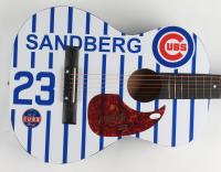 "Ryne Sandberg Signed 38"" Acoustic Guitar (JSA COA) (See Description) at PristineAuction.com"