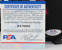 "Robert O'Neill Signed ""Osama Bin Laden"" Matte Black Mini Helmet Inscribed ""Never Quit!"" (PSA COA) at PristineAuction.com"