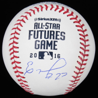 Eloy Jimenez Signed 2016 All-Star Futures OML Baseball (JSA Hologram) at PristineAuction.com