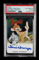 Donnie Dunagan Signed 2015 Bambi Trading Card (PSA Encapsulated) at PristineAuction.com
