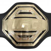 Francis Ngannou Signed Full-Size UFC World Championship Replica Belt (Beckett Hologram) at PristineAuction.com