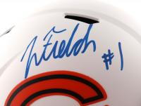 Justin Fields Signed Bears Full-Size Lunar Eclipse Alternate Speed Helmet (Beckett Hologram) at PristineAuction.com