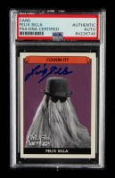 """Felix Silla Signed """"The Addams Family"""" Cousin ITT Trading Card (PSA Encapsulated) at PristineAuction.com"""