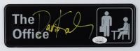 "David Koechner  Signed ""The Office"" 3x9 Sign (JSA COA) at PristineAuction.com"