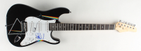 """Roger Waters & Nick Mason Signed """"Dark Side Of The Moon"""" 39"""" Electric Guitar (JSA LOA) at PristineAuction.com"""