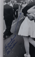 George Mendonsa & Rita Mendonsa Signed 8x10 Photo With Inscriptions (BGS Encapsulated) at PristineAuction.com