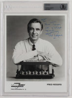 """Fred Rogers Signed 8x10 Photo Inscribed """"With Kindest Regards"""" & """"1997"""" (BGS Encapsulated) at PristineAuction.com"""