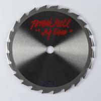 """Tobin Bell Signed 7.25"""" Saw Blade Inscribed """"Jigsaw"""" (Radtke Hologram) at PristineAuction.com"""