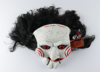 """Tobin Bell Signed """"Saw"""" Billy the Puppet Mask Inscribed """"Jigsaw"""" (Radtke COA) at PristineAuction.com"""