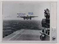 Richard Cole, Ed Saylor, & David Thatcher Signed 8x10 Photo With Inscriptions (BGS Encapsulated) at PristineAuction.com