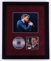 Michael Buble Signed 18x22 Custom Framed CD Booklet Display (ACOA COA) at PristineAuction.com