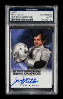 """Felix Silla Signed """"Buck Rogers in the 25th Century"""" Twiki Trading Card (PSA Encapsulated) at PristineAuction.com"""