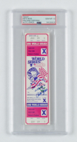 """Pete Rose Signed 1980 World Series Game 5 Ticket Inscribed """"3x W.S. Champs"""" (PSA Encapsulated) at PristineAuction.com"""