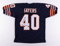 """Gale Sayers Signed Jersey Inscribed """"Kansas Comet"""" (Beckett COA) at PristineAuction.com"""