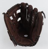 "Nolan Ryan Signed Rawlings Baseball Glove Inscribed ""7 No Hitters"" (PSA COA) at PristineAuction.com"