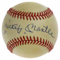 Mickey Mantle Signed OAL Baseball (JSA LOA) at PristineAuction.com