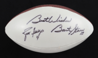 "Brett Favre & Bart Starr Signed NFL Football Inscribed ""Best Wishes"" (JSA LOA) at PristineAuction.com"