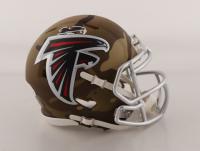 Calvin Ridley Signed Falcons Camo Alternate Speed Mini Helmet (Beckett COA) at PristineAuction.com