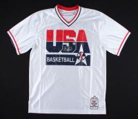 Larry Bird Signed Team USA Warm-Up Jacket (Bird Hologram) at PristineAuction.com