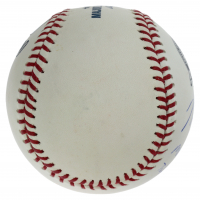 """Mike Trout Signed Angels 50th Anniversary OML Baseball Inscribed """"MLB Debut"""" & """"July 8th 2011"""" (MLB Hologram) at PristineAuction.com"""
