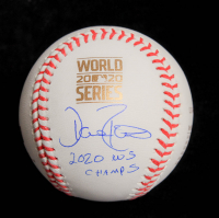 """Dave Roberts Signed 2020 World Series Dodgers Logo Commemorative Baseball Inscribed """"2020 WS Champs"""" (JSA COA) at PristineAuction.com"""
