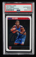 Joel Embiid Signed 2014-15 Hoops #263 RC (PSA Encapsulated) at PristineAuction.com