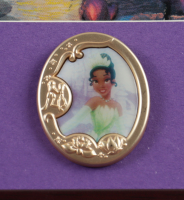 "Thomas Kinkade Walt Disney's ""The Princess & the Frog"" 16x16 Custom Framed Print Display with Pin at PristineAuction.com"