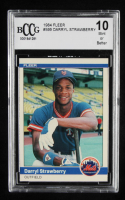 Darryl Strawberry 1984 Fleer #599 RC (BCCG 10) at PristineAuction.com
