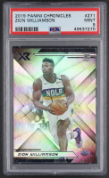 Zion Williamson 2019-20 Panini Chronicles #271 XR RC (PSA 9) at PristineAuction.com