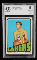 Jerry West 1972-73 Topps #75 (BCCG 9) at PristineAuction.com