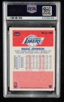 Magic Johnson 1986-87 Fleer Stickers #7 (PSA 9) (OC) at PristineAuction.com