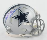 Deion Sanders Signed Cowboys Speed Mini Helmet (Beckett COA) at PristineAuction.com