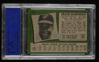 Frank Robinson 1971 Topps #640 (PSA 8) (OC) at PristineAuction.com