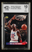 Michael Jordan 1992-93 Upper Deck All-Star Weekend #15 (BCCG 10) at PristineAuction.com
